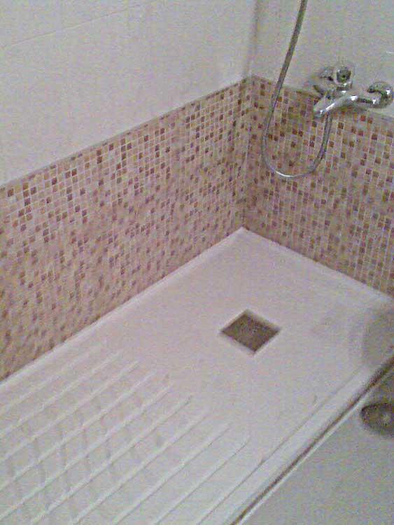Cambiar ba era por ducha instalar plato de ducha cambio for Instalar plato ducha